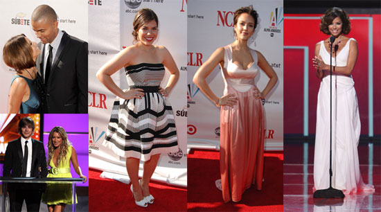 Photos of the Red Carpet at the 2008 Alma Awards Including Eva Longoria, Jessica Alba, America Ferrera, Zac Efron, and More