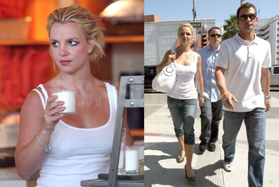 Photos of Britney Spears, Who Will Not Perform at VMAs, Shopping in LA With Brother Bryan