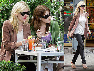 Photos of Kirsten Dunst, Who is Rumored to Have Given Justin Long a Present, Out in NYC