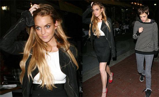 Photos of Lindsay Lohan and Samantha Ronson in NYC 2008-09-16 15:30:53
