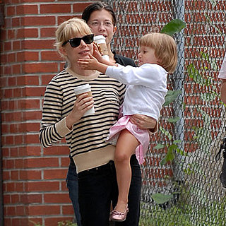 Michelle Williams and Matilda Ledger Stroll in Brooklyn