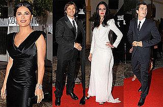 Photos of Monica Cruz, Olivier Martinez, Salma Hayek, Orlando Bloom, and Eva Green Celebrating Vanity Fair Spain