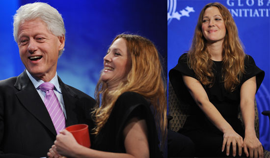 Photos of Drew Barrymore At The Clinton Global Initiative