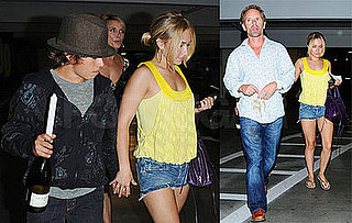 Photos of Hayden Panettiere Out to Dinner with Her Family; Her Father is Charged with Battery