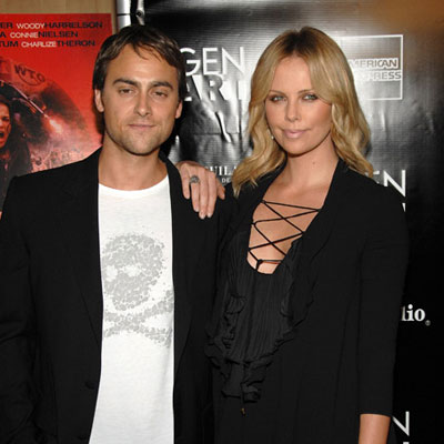 Charlize Theron and Stuart Townsend Out in LA