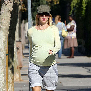 Pregnant Naomi Watts Out for a Jog