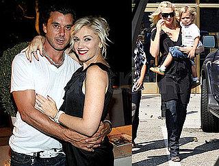 Photos of Gwen Stefani and Kingston in LA