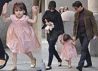 Photos of Tom Cruise, Katie Holmes, Suri Cruise in NYC