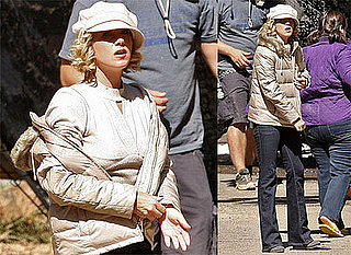 Christina Applegate Filming on Samantha Who? in Pacific Palisades