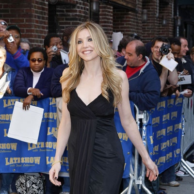 Sarah Chalke Heads into The Late Show