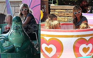Kate Moss Takes Daughter Lila Hack to Disneyland