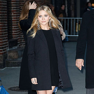Ashley Olsen at The Late Show