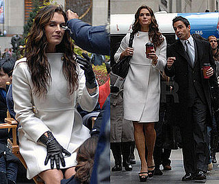 Photos of Brooke Shields Filming Final Scenes For Lipstick Jungle After Show's Cancellation