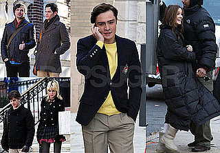 Photos of Gossip Girl Cast on Set, Interview With Penn Badgley Calling Dan His Own Worst Enemy and Judgmental
