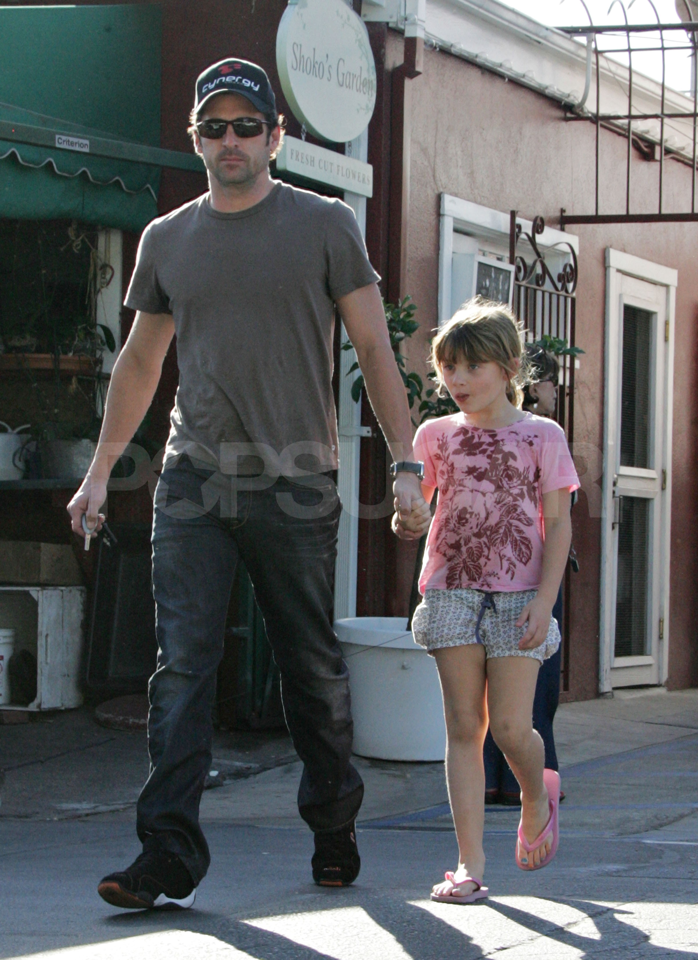 Photos of Patrick Dempsey with his Daughter Tallulah in ...