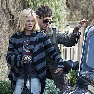 Kate Moss and Jamie Hince Go to the Pub in the Cotswolds