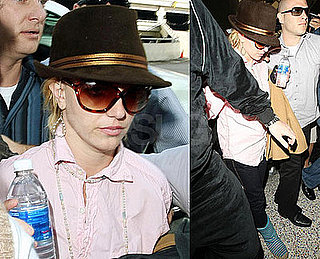 Photos of Britney Spears and Jamie Spears at LAX