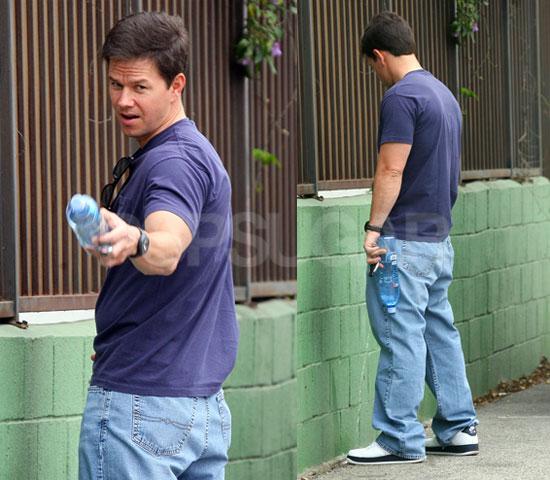 Mark Caught Peeing