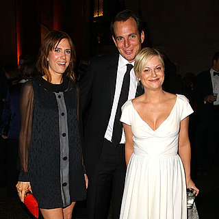 Amy Poehler, Will Arnett and Kristen Wiig at the 2008 American Museum Of Natural History's Gala in NYC