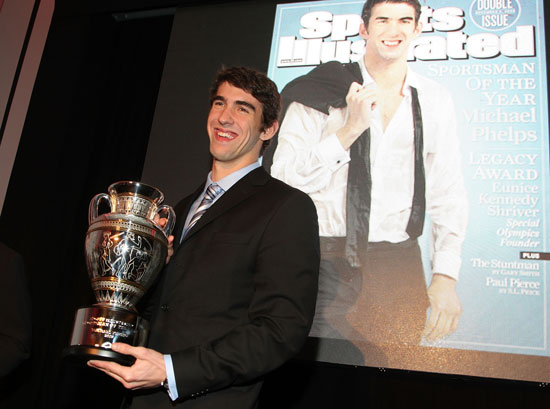 Sugar Shout Out: Michael Phelps Is Sportsman of the Year