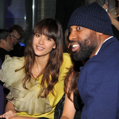 Photo of Jessica Alba and Baron Davis at the Conga Room