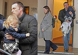 Photos of Ben Affleck and Jennifer Garner Picking Up Violet Affleck From School