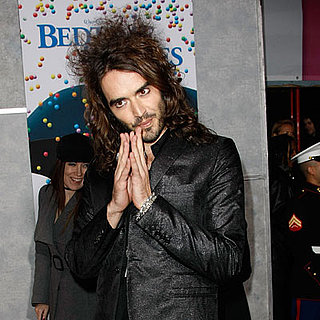 Russell Brand at the Bedtime Stories Premiere