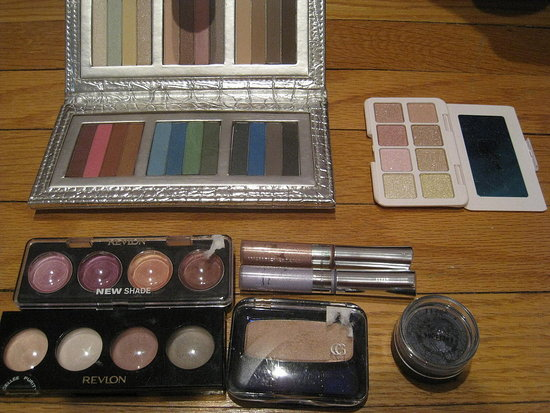 Eyeshadows.