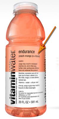 Ribose in My Vitamin Water?