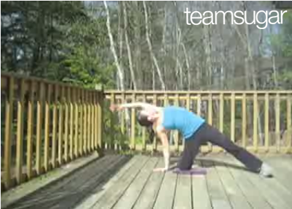 Stretch It: Side Bends on Your Knee