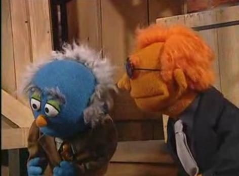 Sesame Street Spoofs CSI