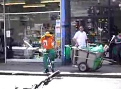 Ziggy the Dancing Street Cleaner