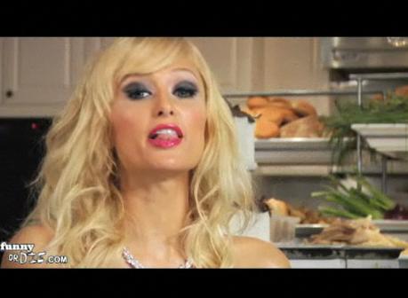 Ruh Roh — Paris Hilton's Still Campaigning!