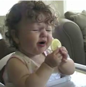 Baby Tastes Lemon