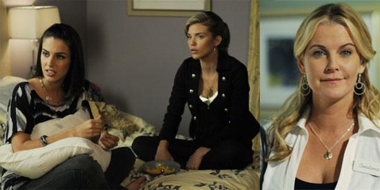 "90210 Recap and Video: Episode 15, ""Help Me, Rhonda"""
