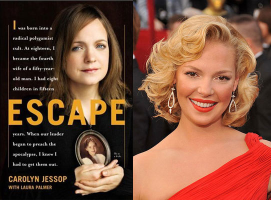 Katherine Heigl to Star In, Produce Carolyn Jessop's Memoir, Escape