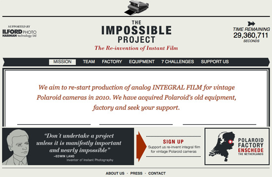 Former Polaroid Employees to Invent New Instant Film