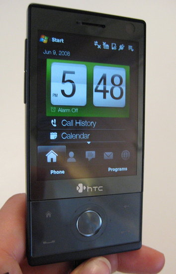 HTC's Touch Diamond in My Hot Little Hand