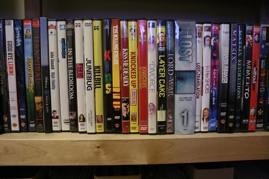 Are DVDs as Attractive as Books?