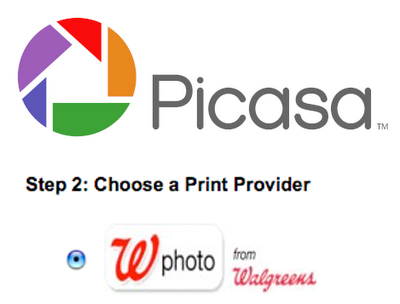 Walgreens Is Now a Print Provider For Picasa