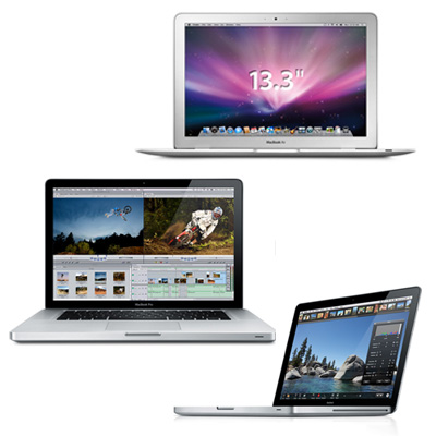 Steve Jobs Announces the New MacBook, MacBook Air, and MacBook Pro
