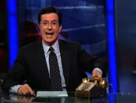 Stephen Colbert Replaces His $310,000 Vertu With an iPhone