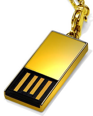 Is This Really the Time For Solid Gold Flash Drives?