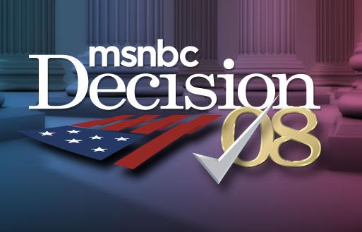 MSNBC Decision 08 on Hulu