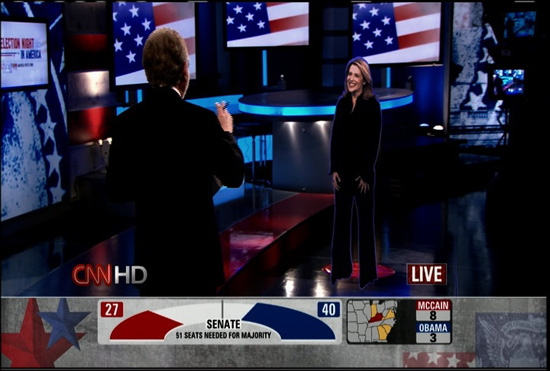 Last Night's CNN Hologram Technology: Freaky and Amazing