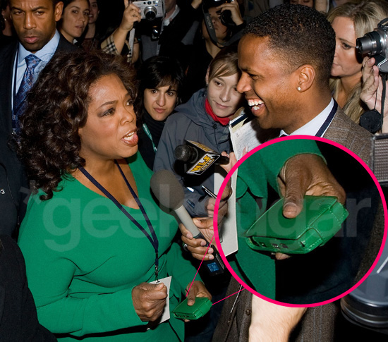 Barack Wins the Election and Oprah Gets a Cell!