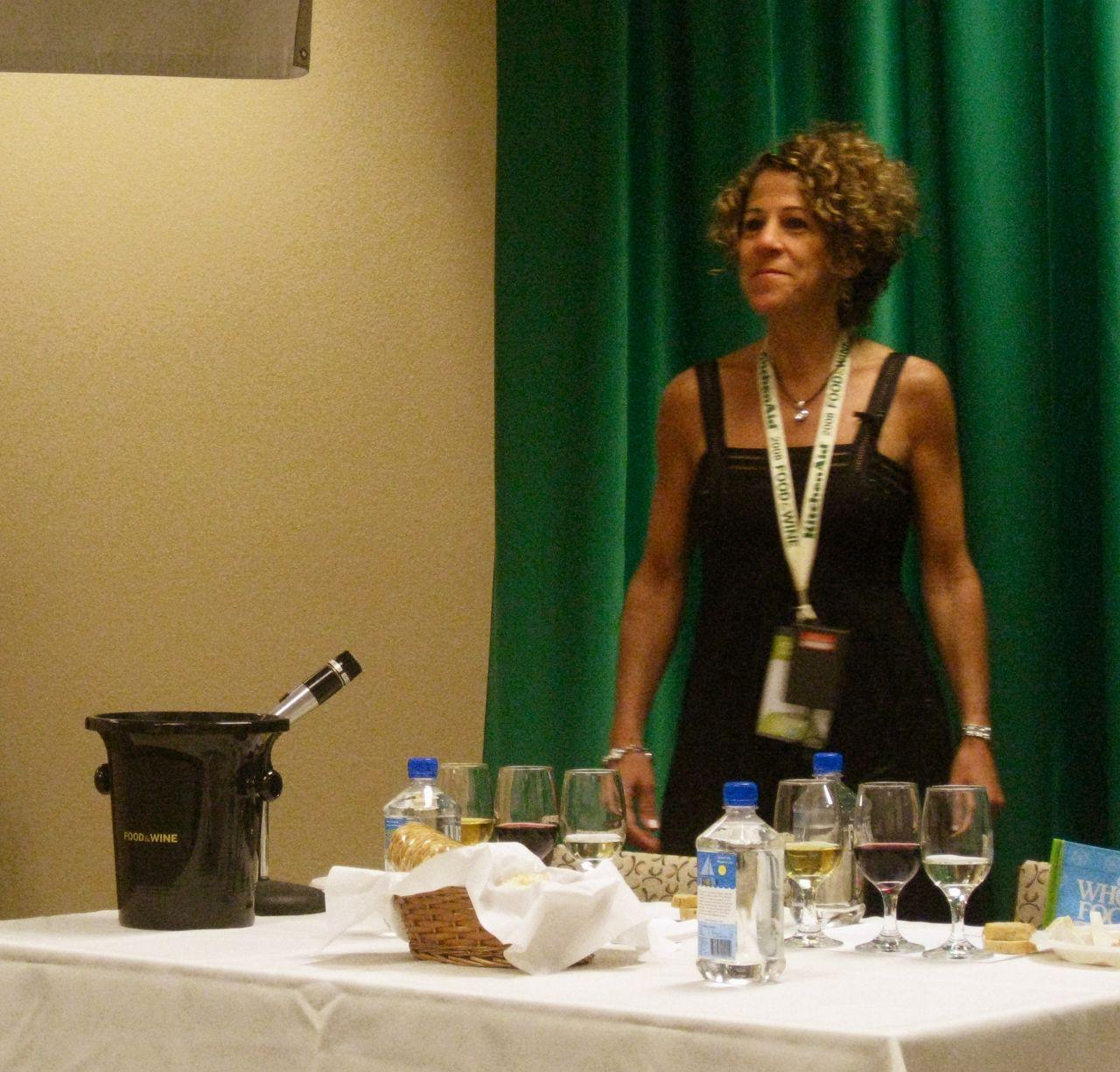 Laura Werlin talks cheese.
