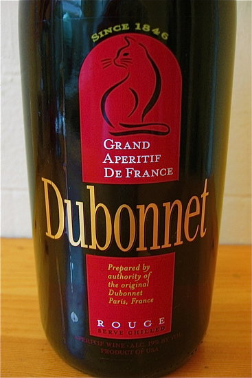 Happy Hour: Dubonnet Rouge