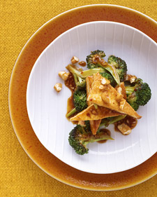 Fast & Easy Dinner: Tofu and Broccoli Stir-Fry