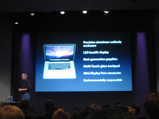 Apple Fall MacBook Announcements 2008-10-14 10:53:36